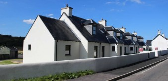 NEW COTTAGES ON THE ISLAND OF SEIL