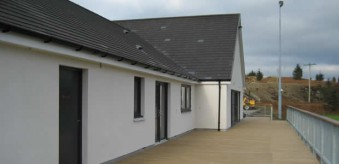 REFURBISHED RUGBY CLUBHOUSE, MULL